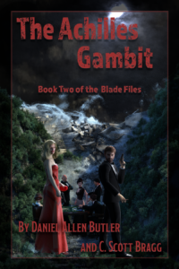 Front cover for The Achilles Gambit